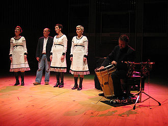 John Potter (musician) - Potter performing with Trio Mediæval