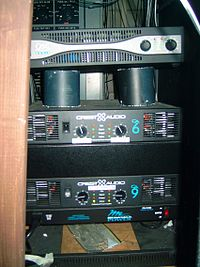 Audio Power Amplifier Wikipedia