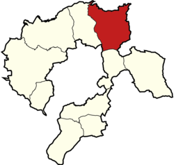 Gmina Wilamowice within the Bielsko County