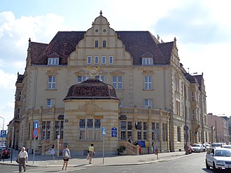 Poczta Polska - Image: Poznań post office at 17 Głogowska street