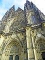 Praha, Chrám svatého Víta, západní průčelí - panoramio (4).jpg