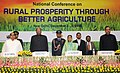 Pratibha Devisingh Patil, the Union Minister for Consumer Affairs, Food and Public Distribution and Agriculture, Shri Sharad Pawar and the Minister for Food Processing Industries.jpg