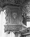 preekstoel detail van ruggeschot - amsterdam - 20012517 - rce