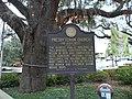 Presbyterian Church marker in Ponce de Leon Park, Tallahassee.JPG