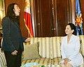 President Gloria Macapagal-Arroyo with Arnel Pineda.jpg