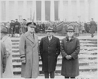 Ulysses S. Grant III - Grant at the Lincoln Memorial in 1949