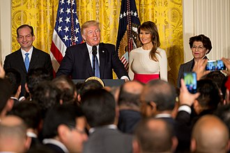 National Hispanic Heritage Month - President Donald Trump and First Lady Melania Trump commemorate National Hispanic Heritage Month, October 6, 2017