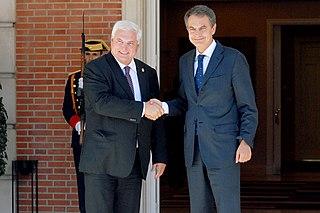 Presidente Zapatero con el Presidente de Panama Ricardo Martinelli