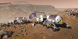 Mars rover - Manned Mars rover concept