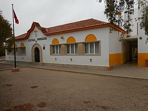 Education in Portugal - Basic School of the 1st Cycle, Tunes (Silves).