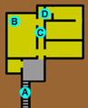 Princess Royal's Battery underground layout.png