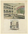 Print, Interior and Exterior Views of the Arena of Astley's Amphitheater, Surrey Road, London, 1815 (CH 18493393).jpg