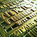 Print works typesetting, Beamish Museum, 9 July 2010.jpg