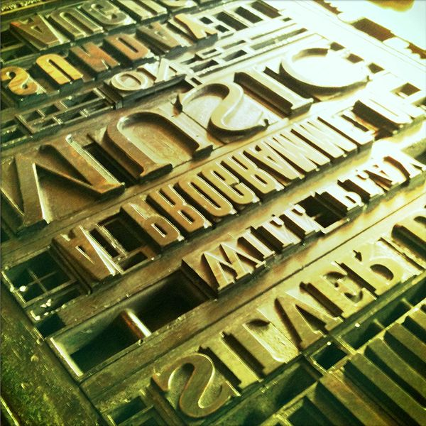 File:Print works typesetting, Beamish Museum, 9 July 2010.jpg