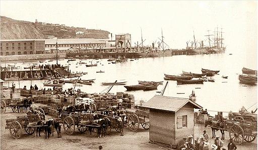 Puerto en 1890