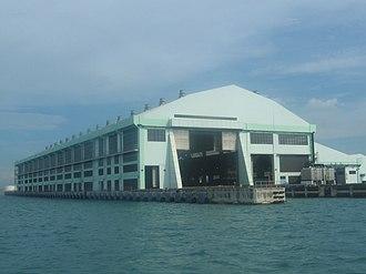 Pulau Semakau - Semakau landfill receiving station