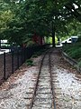 Pullen Park Childrens Railroad Oct 2013 with Caboose - panoramio.jpg