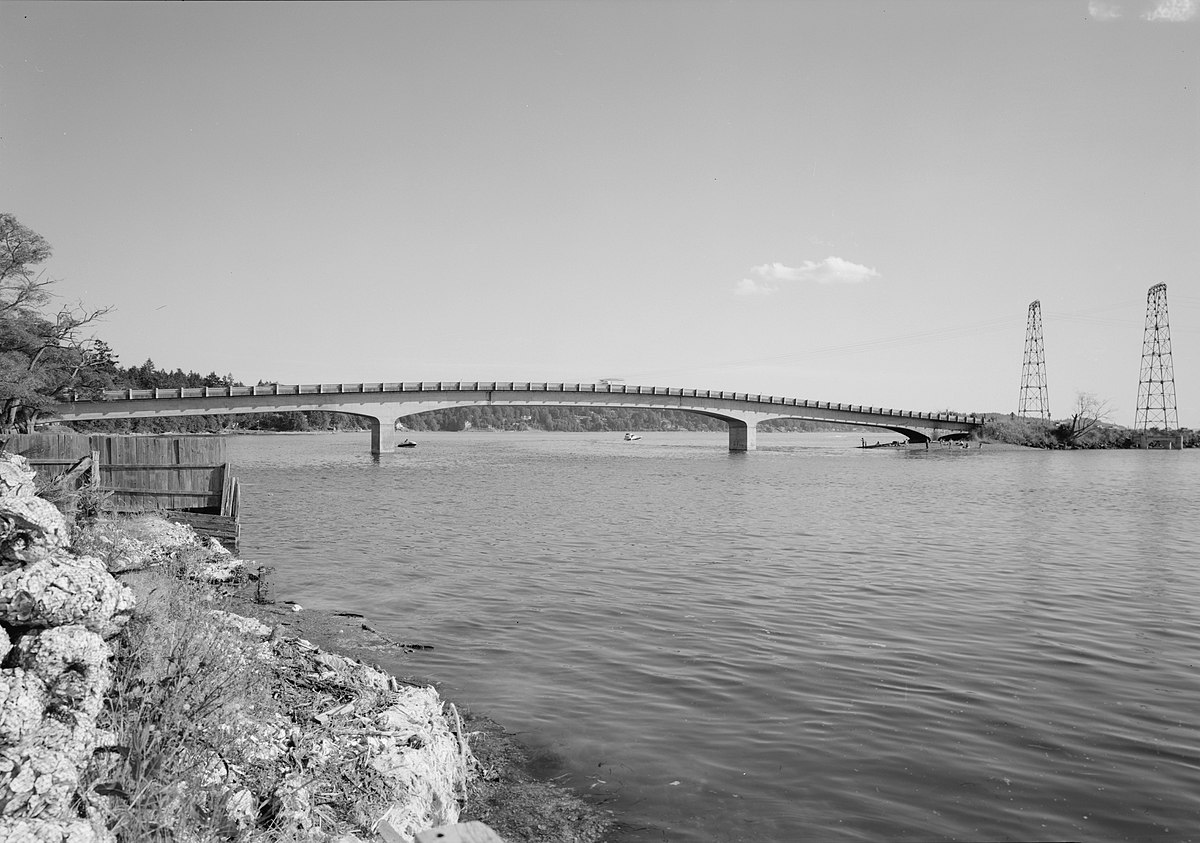 Image result for purdy bridge opening sept 29, 1937