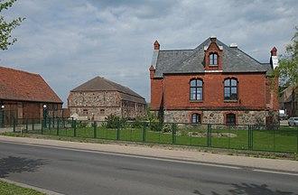 Putlitz - Image: Putlitz Burghof