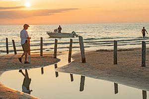 Sauble Beach, Ontario - Sauble Beach, Ontario, Sunset