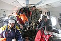 Quake hit victims are being evacuated by an IAF Mi-17 chopper to safer place in Nepal.jpg