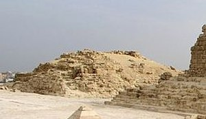 Giza East Field - Image: Queen Pyramid of Hetepheres (G1a)