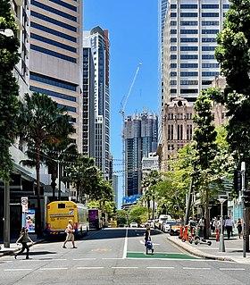 Queen Street, Brisbane Street in Brisbanes CBD