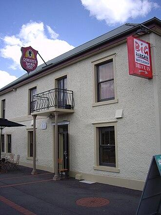 Perth, Tasmania - Queen's Head Inn, Perth Tasmania