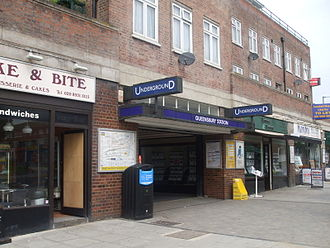 Queensbury, London - Image: Queensbury station entrance