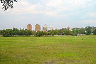 Queens Park, New South Wales - Queens Park, view towards Bondi Junction