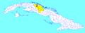 Quemado de Güines (Cuban municipal map).png