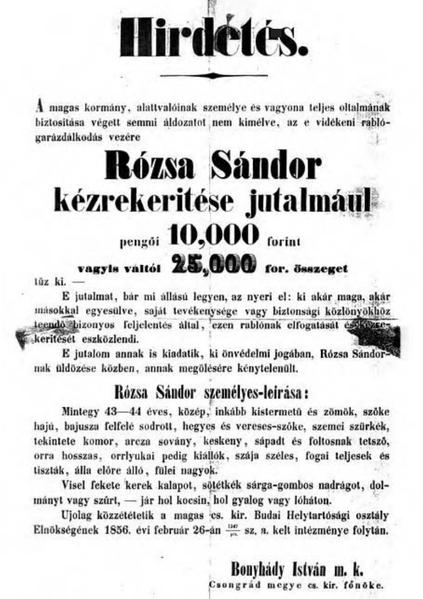 Fájl:Rózsa Sándor körözési hirdetménye.PNG