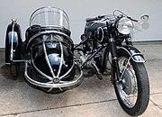 R68 with 1951 Steib sidecar