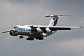 RA-76951 Ilyushin Il-76TD-90VD arriving Farnborough (14588905536).jpg