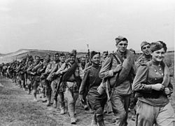 RIAN archive 60236 Soldiers on the march.jpg