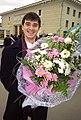 RIAN archive 813357 A man with a bouquet.jpg
