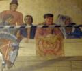 ROM-MedievalJoustMuralDetail-CharlesTrickCurrelly.png