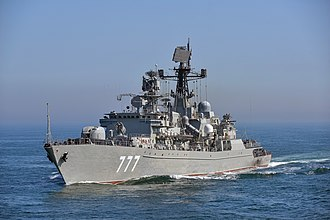 Neustrashimyy-class frigate - Yaroslav Mudry, April 2018