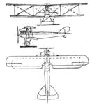 Raab-Katzenstein RK 8 3-view Le Document aéronautique April,1927.png