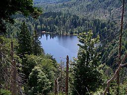 Rachelsee, top view