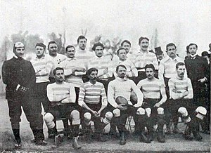 Racing Club de France - Racing-Paris Rugby Team in 1899