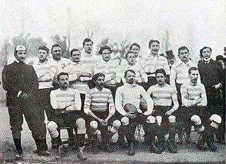 Racing 92 - The team that played London Irish in 1899.