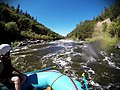 Rafting the Klamath River Gunsmoke (Class III, Mile 5.7) (29561739411).jpg