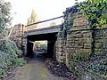 Railway Bridge 100 Metres West Of Hermitage Mill, Near Kings Mill Reservoir, Mansfield (3).jpg