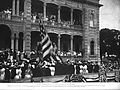 Raising the American Flag Over Iolani Palace.jpg