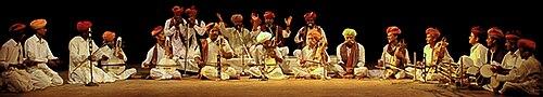 राजस्थानी कलाकार
