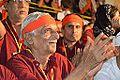 Ramesh Parekh Praying - Evening Function - Rawatpura Sarkar Ashram - Chitrakoot - Satna 2014-07-05 6849.JPG