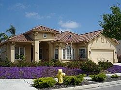 A ranch style house in Salinas, California