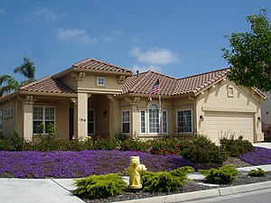 Home-ownership in the United States - A single-family home valued at roughly $550,000 in Salinas, California.