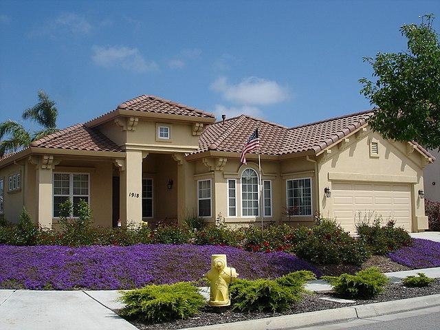 File:Ranch style home in Salinas, California.JPG ...